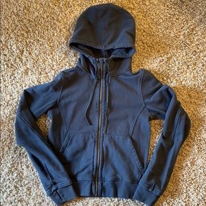 Blue/grey hoodie